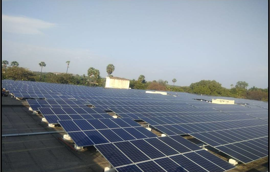Madura coats continues its faith in solar by adding another 3 MW for its facilities in TN