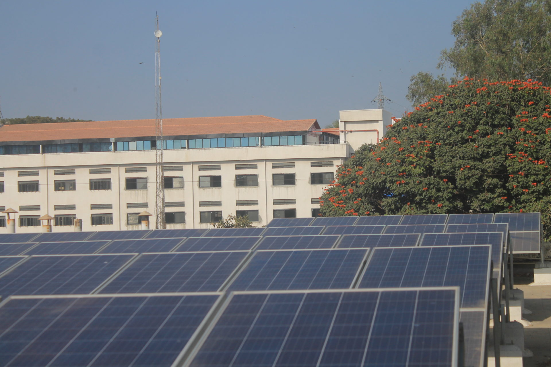 Indian Bureau of Mines Solar Power Plant