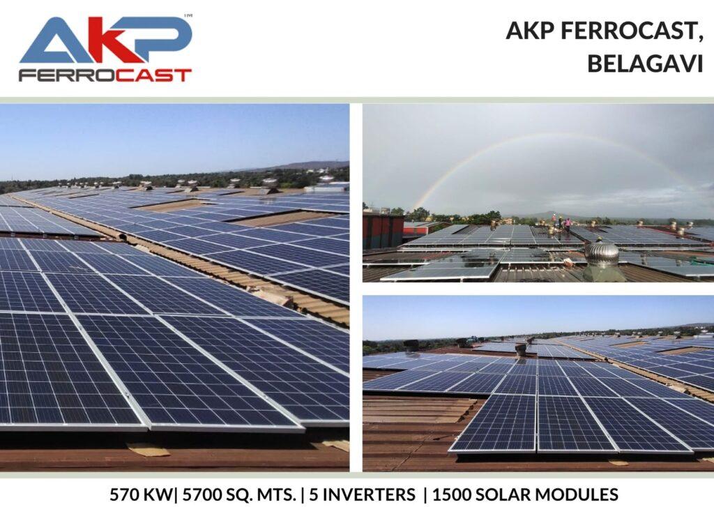 Solar Power for AKP Ferrocast